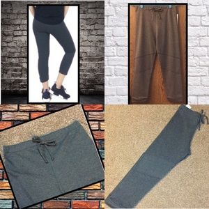 Atid Luxury Jogger / Lounge Pant in Charcoal